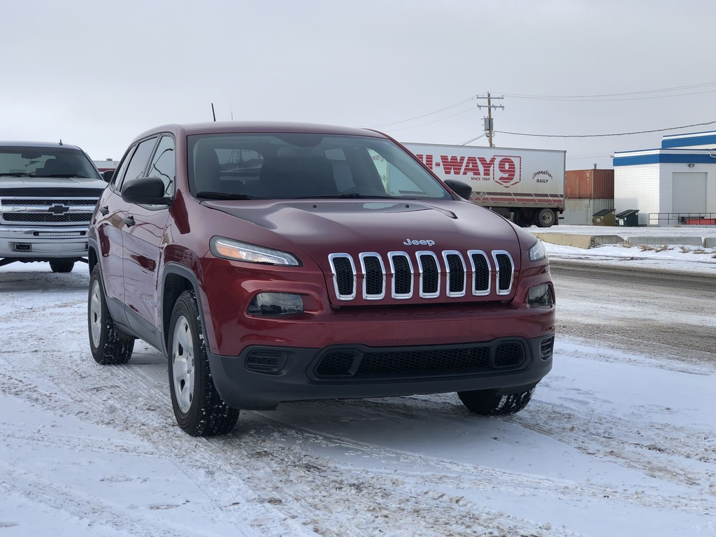 Pre-Owned 2017 Jeep Cherokee 4WD 4dr Sport