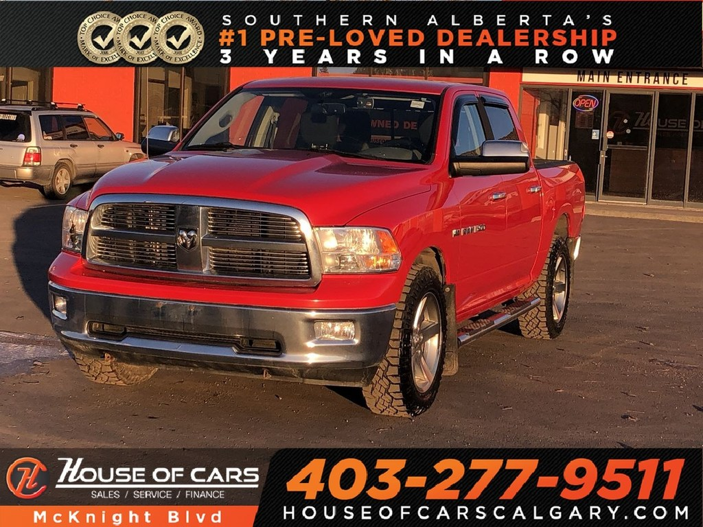 Pre-Owned 2012 Ram 1500 SLT 4x4 Crew Cab 140 in. WB