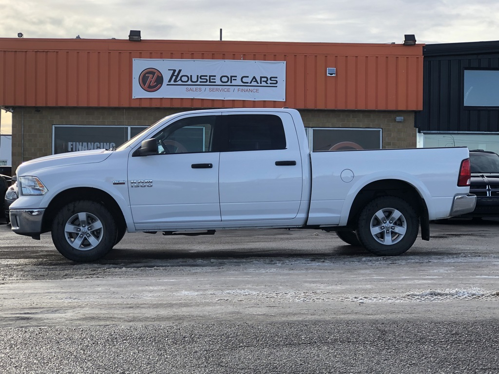 Pre-Owned 2018 Ram 1500 Outdoorsman 4x4 Crew Cab 6'4 Box