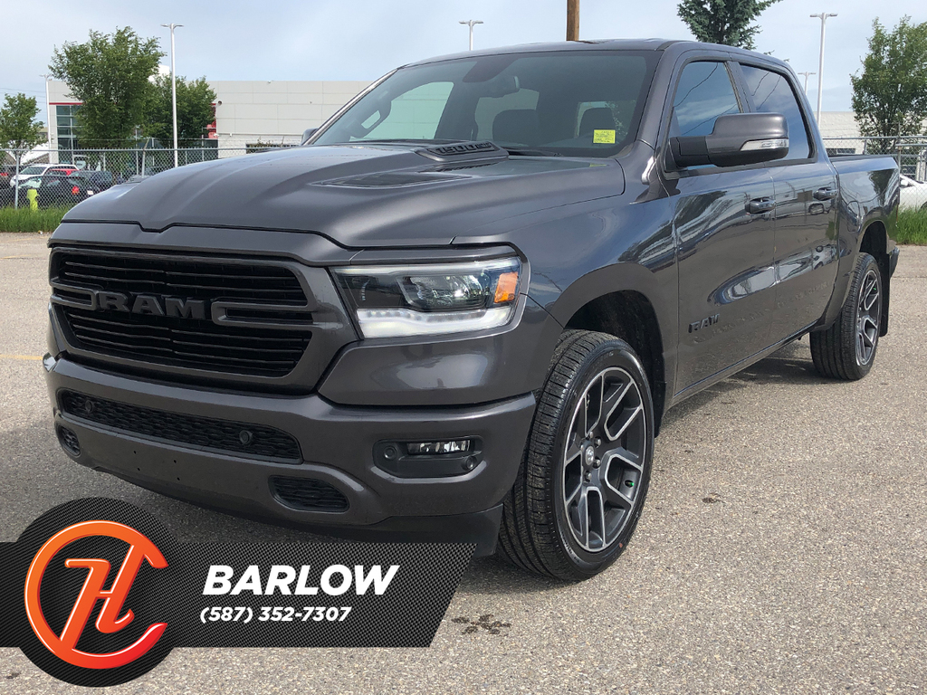 Pre Owned 2020 Ram 1500 Sport 4x4 Crew Cab 5 7 Box Navi Leather Truck In Calgary 5839 5 House Of Cars Calgary