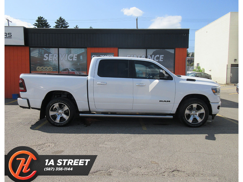 Pre-Owned 2020 Ram 1500 Sport 4x4 Crew Cab 5'7 Box