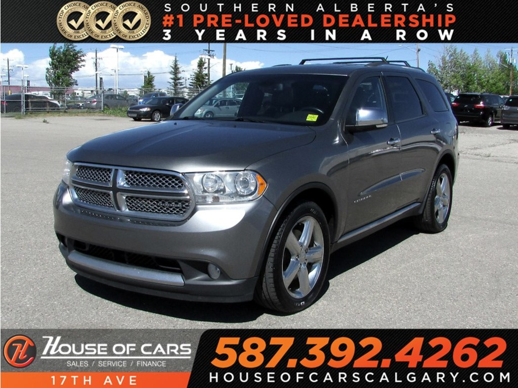 Pre-Owned 2011 Dodge Durango Citadel / Leather / Heated seats