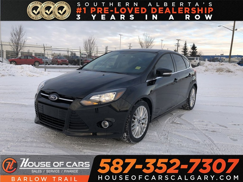 Pre-Owned 2013 Ford Focus Titanium / Navi / Heated leather seats