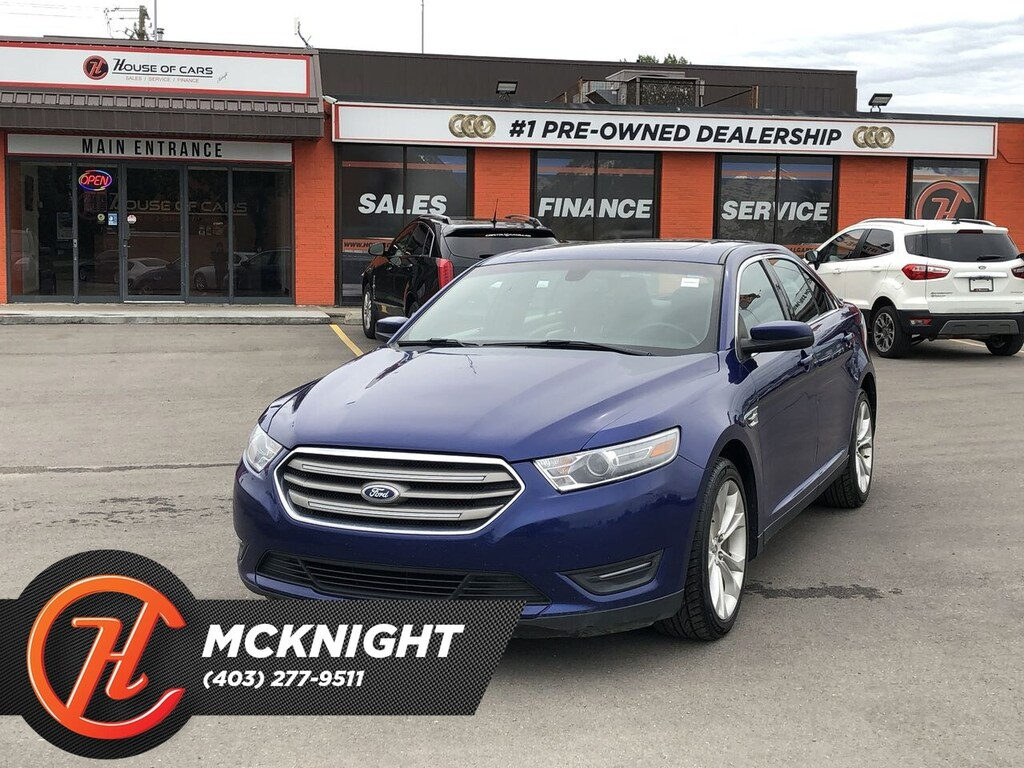 Pre-Owned 2013 Ford Taurus SEL / Leather / Sunroof / Back up cam