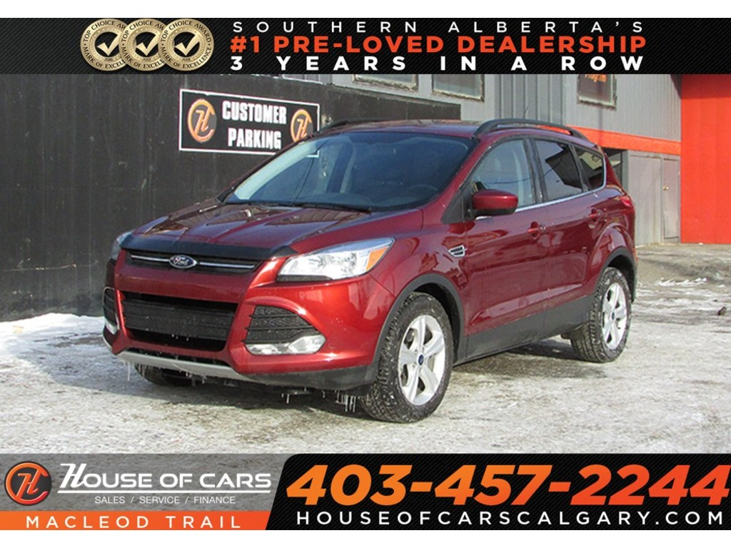 Pre-Owned 2015 Ford Escape SE/ Backup Camera/ Heated Seats/ leather seats