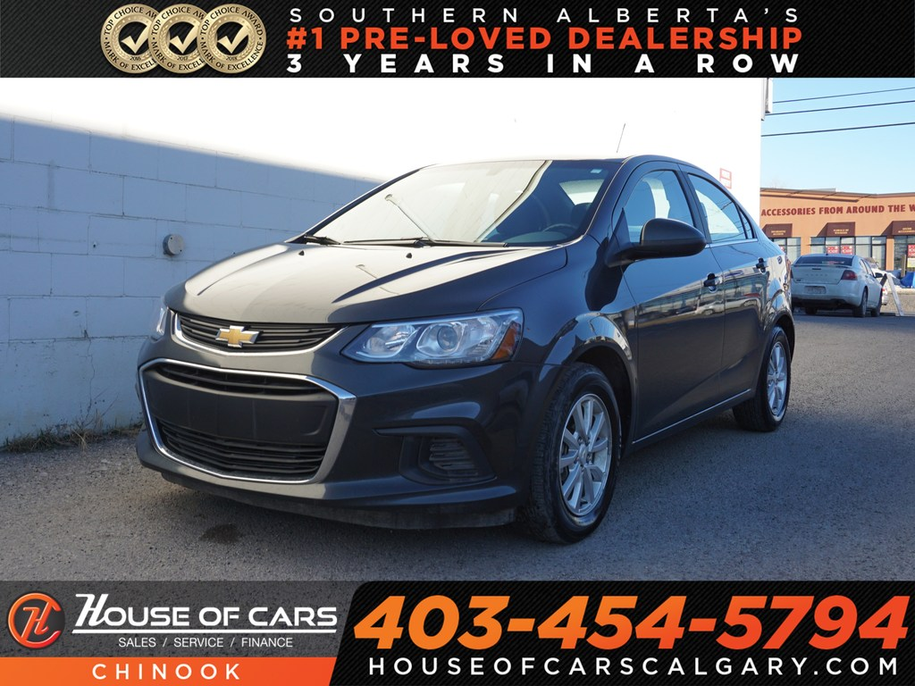 Pre-Owned 2018 Chevrolet Sonic LT w/ Backup Camera,Heated Seats,Wi-Fi Hotspot