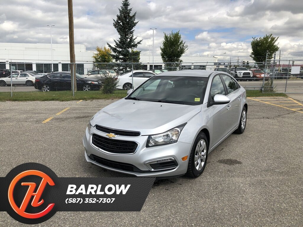 Pre-Owned 2015 Chevrolet Cruze LT 1LT / Back up camera / Bluetooth