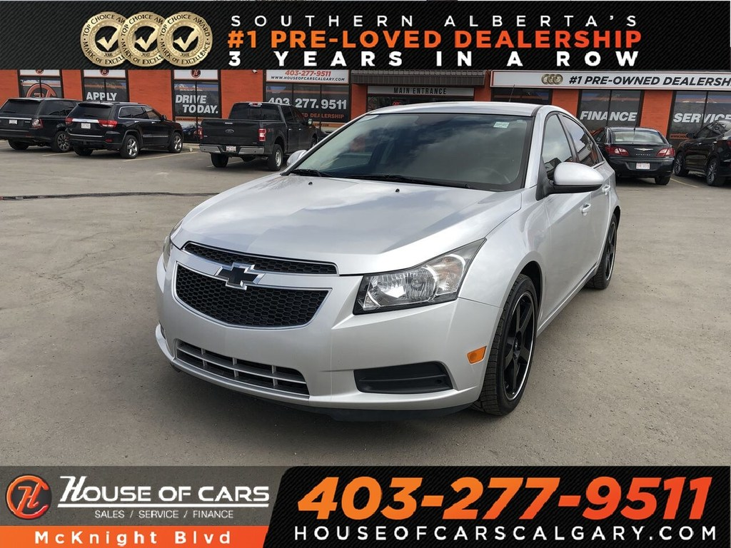 Pre-Owned 2013 Chevrolet Cruze LT Turbo / Leather