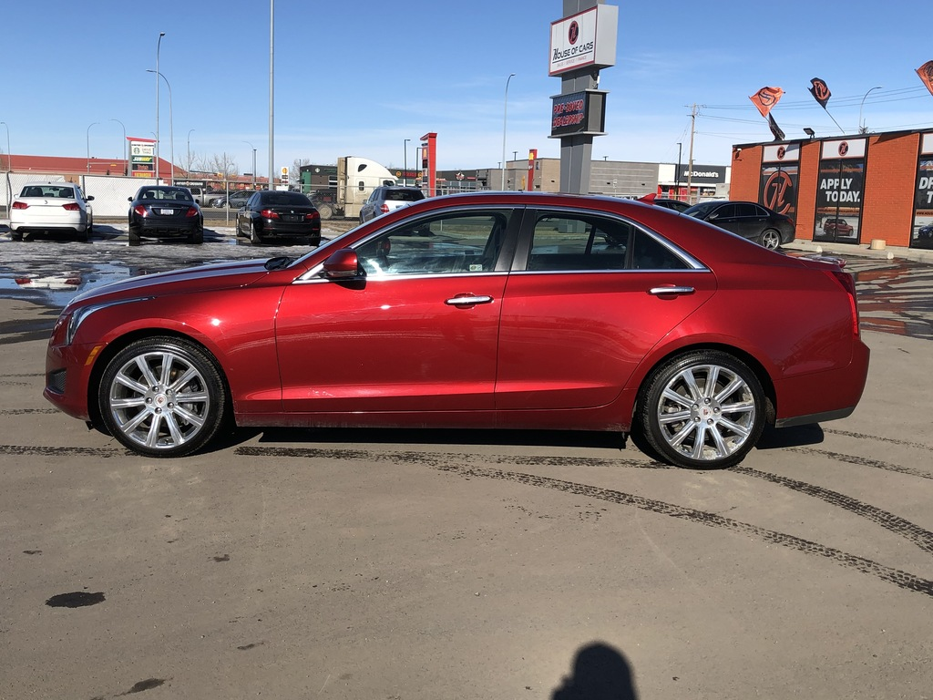 Pre-Owned 2014 Cadillac ATS Leather / Sunroof / Back up cam / Navi