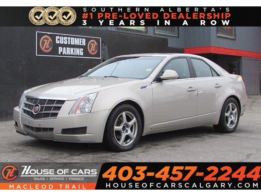 Pre-Owned 2009 Cadillac CTS 3.6L w/1SB/AWD/Leather seat/Mechanics Special