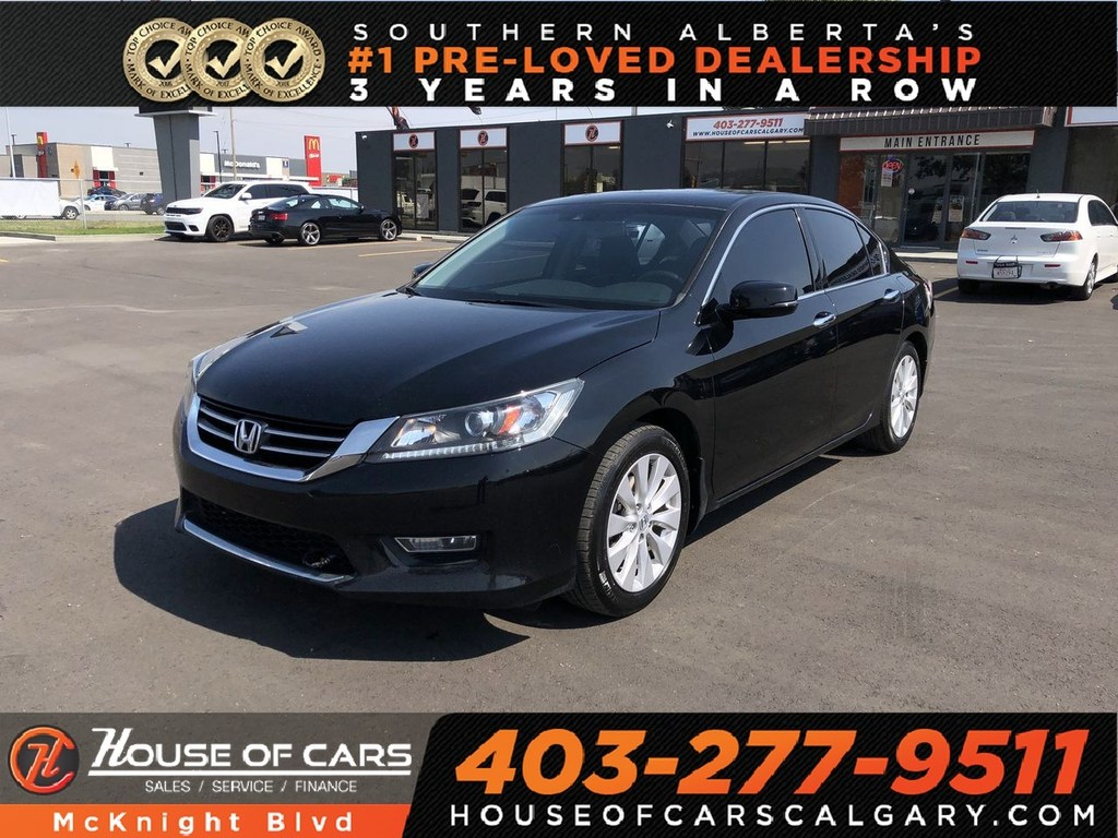 Pre Owned 2013 Honda Accord EX L V6 / Leather / Sunroof / Back