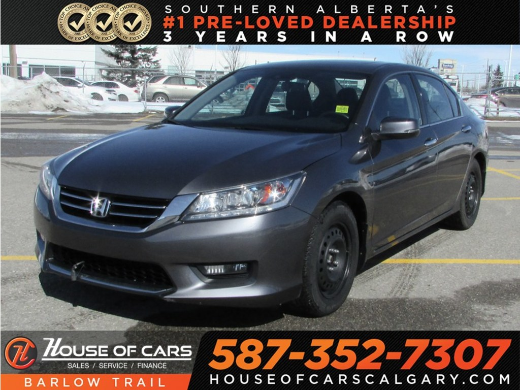 Pre Owned 2014 Honda Accord Touring V6 / Navi / Back Up Camera / Sunroof