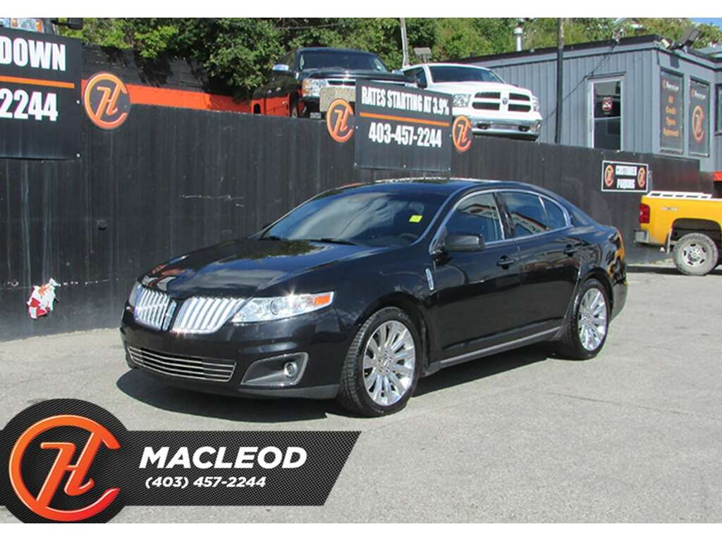 Pre-Owned 2011 Lincoln MKS Base, Bluetooth,Heated Seats,Backup Cam,AWD