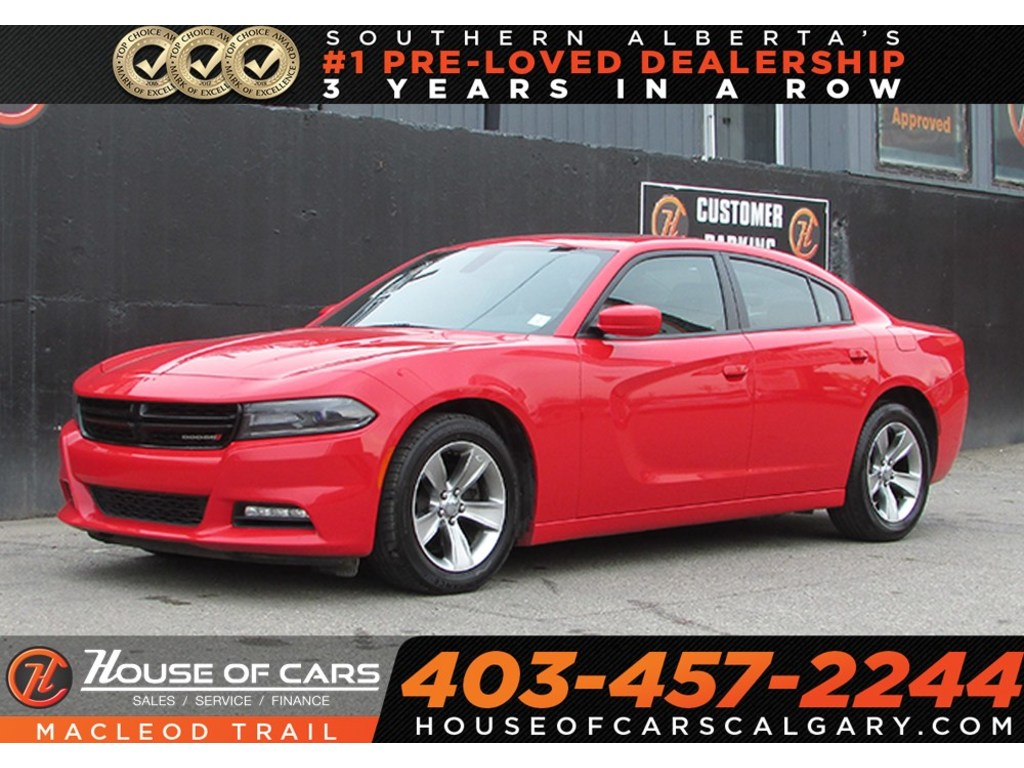 Pre-Owned 2017 Dodge Charger SXT/ Sunroof Sedan - BLACK ...