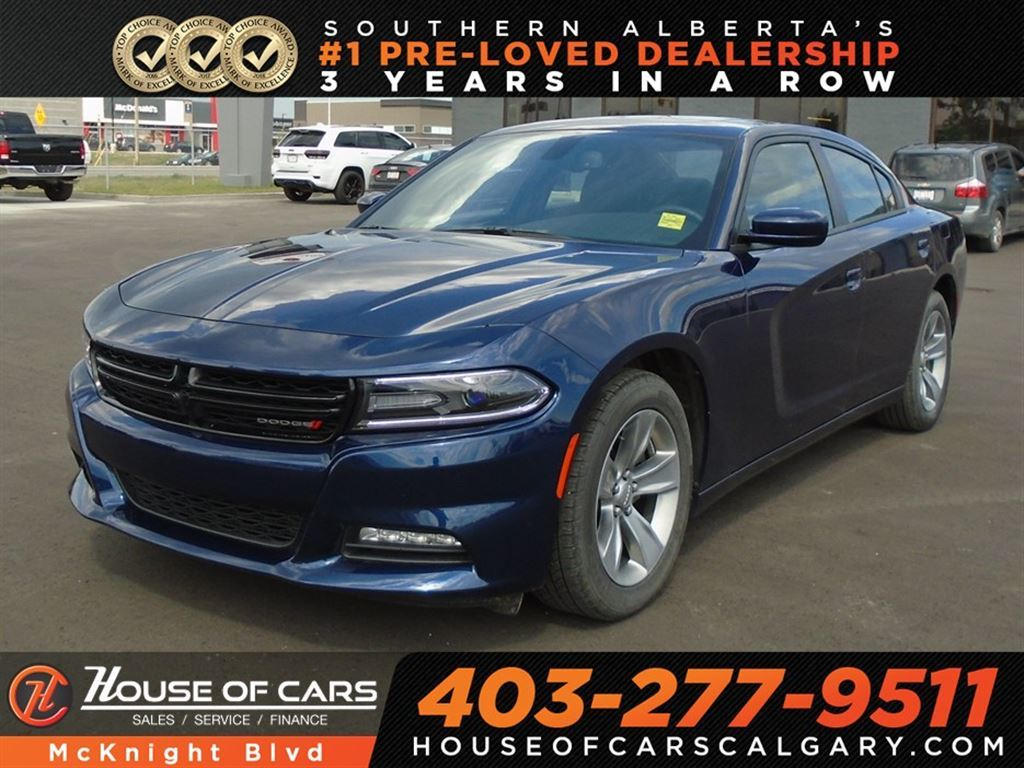 Pre Owned 2017 Dodge Charger Sxt Bluetooth Back Up Camera Sedan