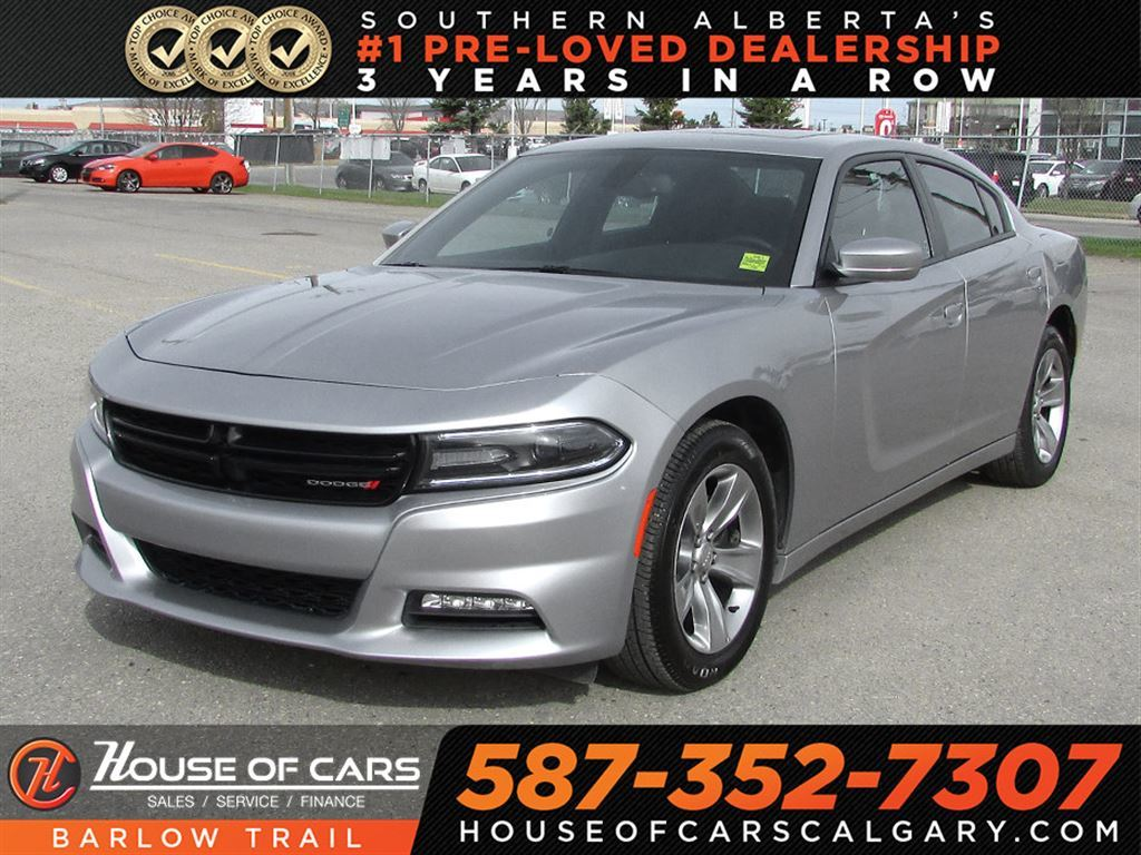 Pre Owned 2017 Dodge Charger Sxt Sunroof Sedan In Calgary 3176 5