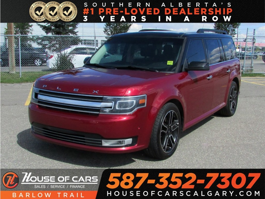 Pre owned 2014 ford flex limited navi leather bluetooth