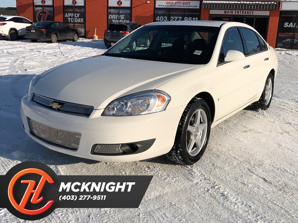Pre-Owned 2008 Chevrolet Impala Leather / Sunroof
