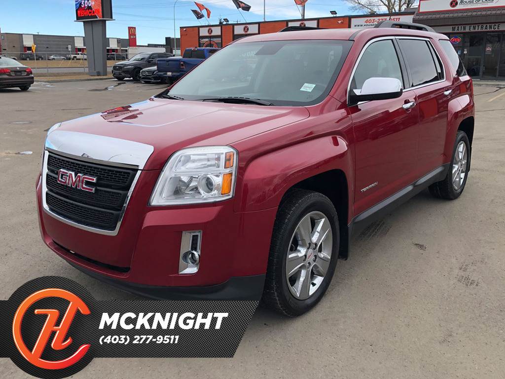 Pre-Owned 2015 GMC Terrain Leather / Sunroof / Back Up Cam