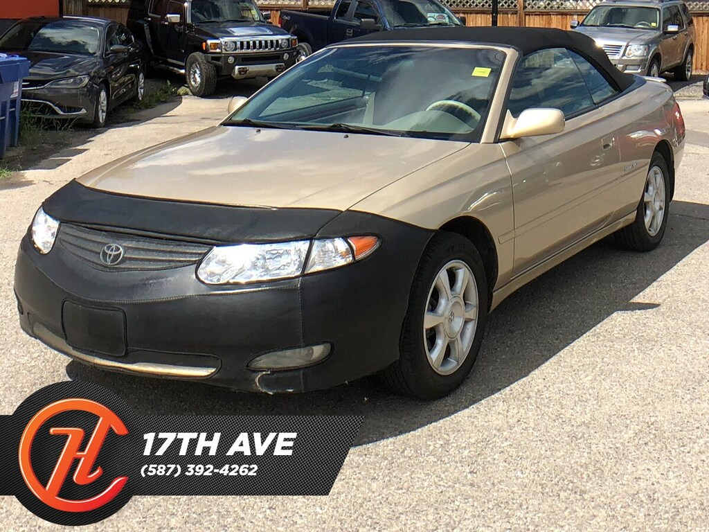 Pre-Owned 2002 Toyota Camry Solara SLE V6 / Leather / Cruise FWD Sedan
