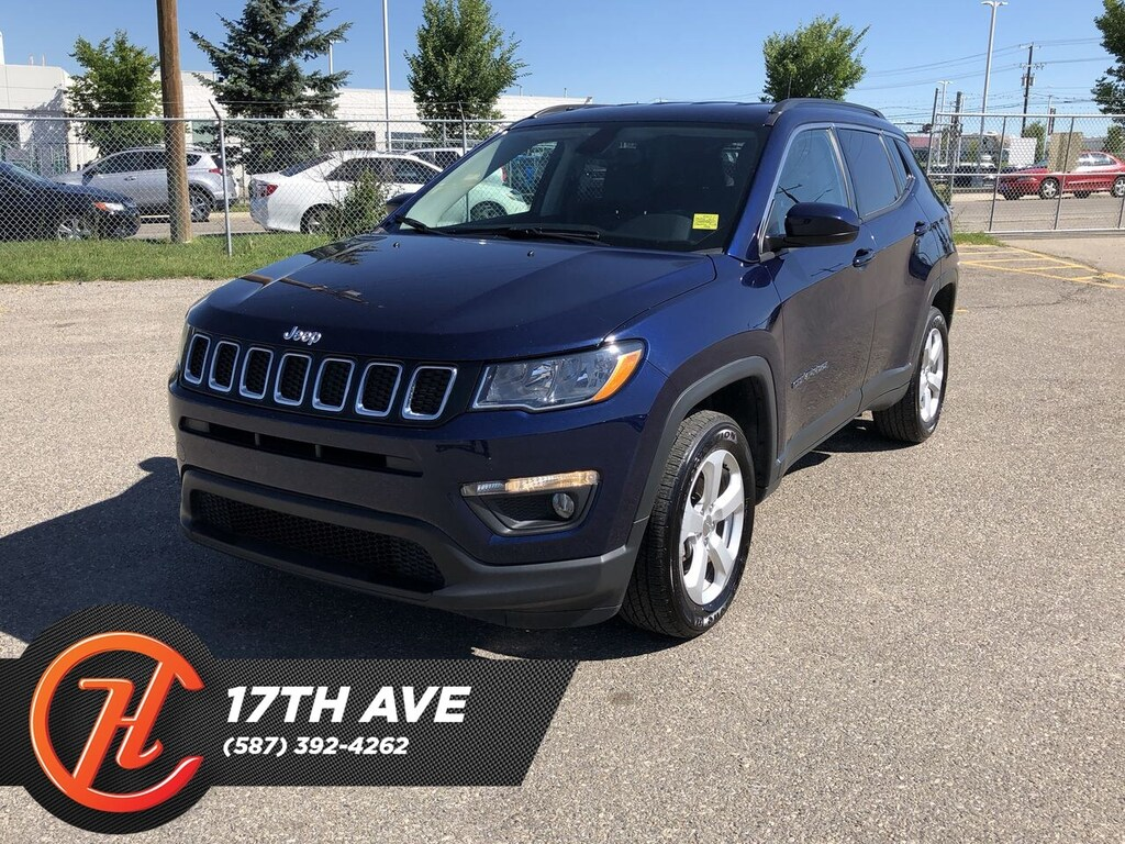 Pre-Owned 2018 Jeep Compass North / Bluetooth