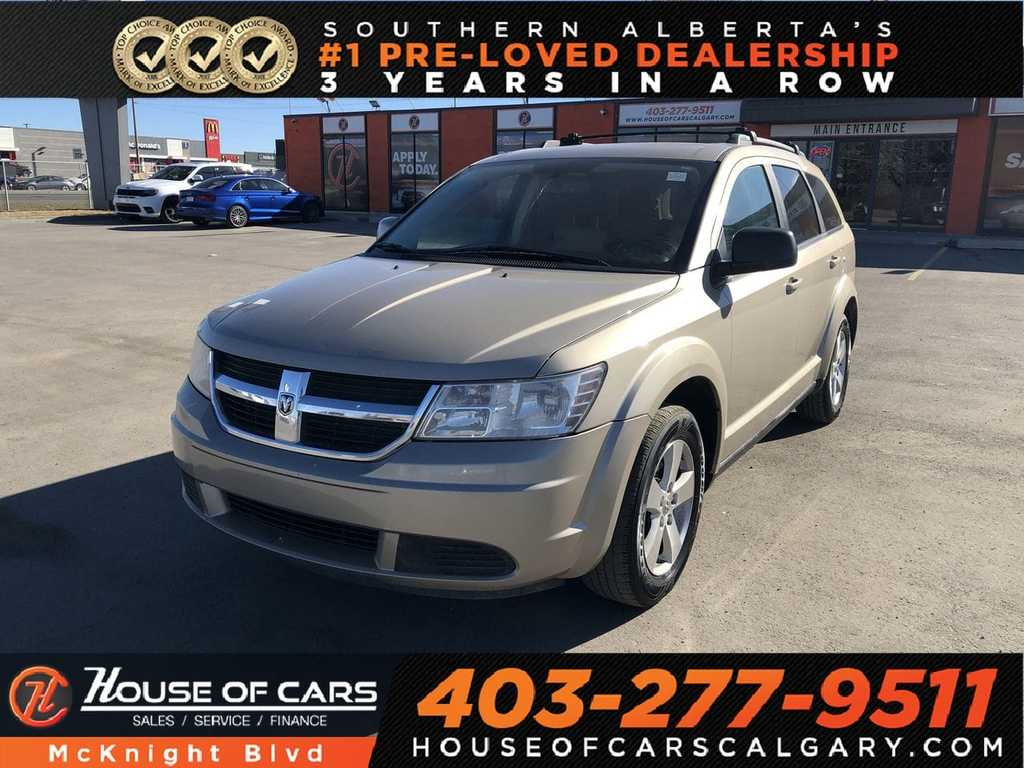 Pre-Owned 2009 Dodge Journey SXT / DVD / Back Up Cam