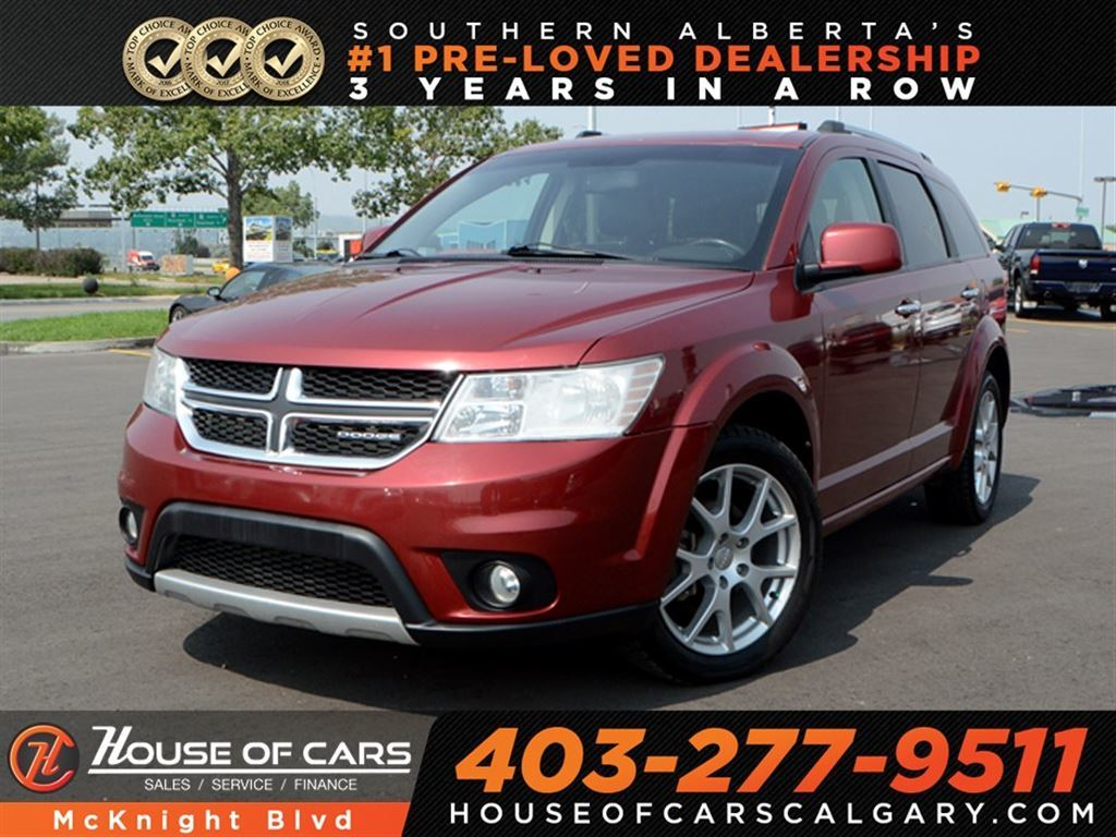 Pre-Owned 2011 Dodge Journey R/T / Leather / Back Up Cam / Navi