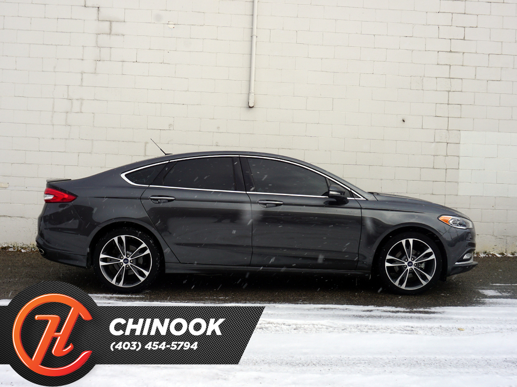 Pre-Owned 2018 Ford Fusion Platinum AWD