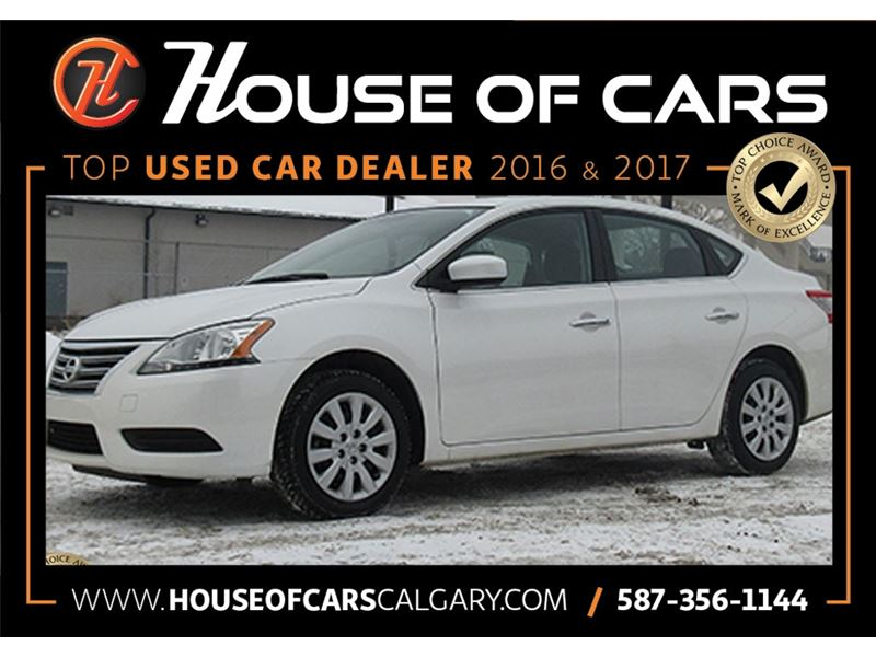 Pre-Owned 2015 Nissan Sentra S CVT Sedan in Calgary #355-6 | House