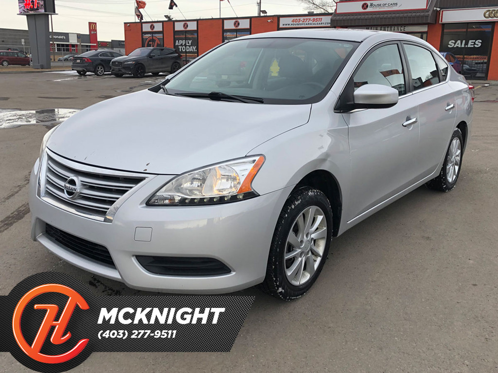 Pre-Owned 2015 Nissan Sentra 4dr Sdn CVT SV / Back up cam / Heated seats