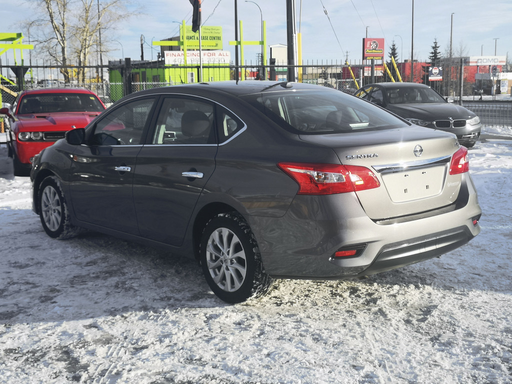 Pre-Owned 2019 Nissan Sentra SV / Back Up Camera / Bluetooth / Heated Seats