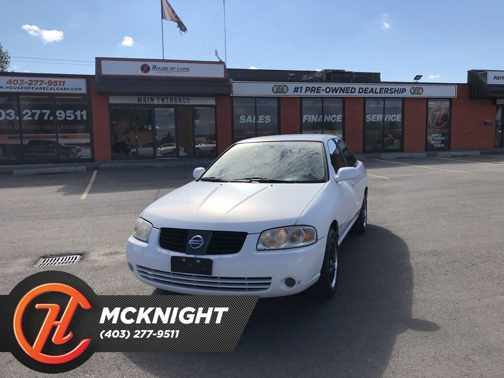 Pre-Owned 2006 Nissan Sentra 1.8 Special Edition Package