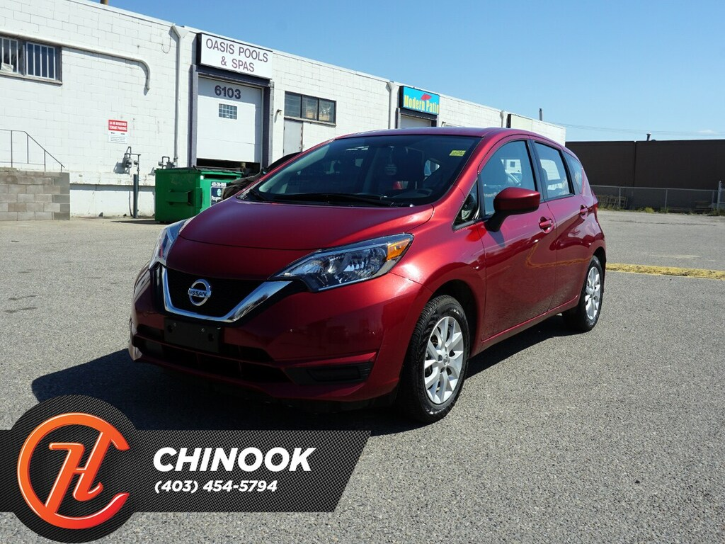 Pre-Owned 2018 Nissan Versa Note SV w/ Bluetooth,Heated Seats,Backup Cam