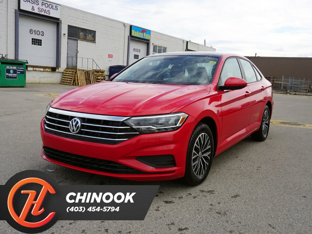 Pre-Owned 2019 Volkswagen Jetta Highline w/ Bluetooth,Heated Seats,Backup Camera