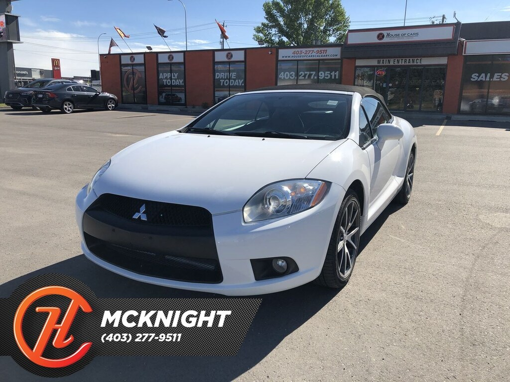 Pre-Owned 2012 Mitsubishi ECLIPSE SPYDER GT-P