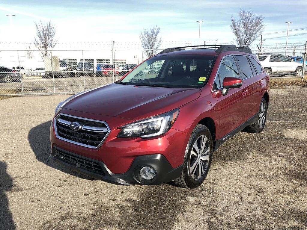 Pre-Owned 2018 Subaru Outback 2.5i Limited / Leather / Navi / Sunroof