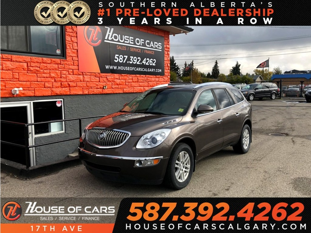 Pre-Owned 2009 Buick Enclave CX / Leather / Heated seats