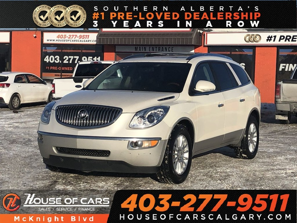 Pre-Owned 2011 Buick Enclave CXL / Leather / Sunroof / Heated Seats