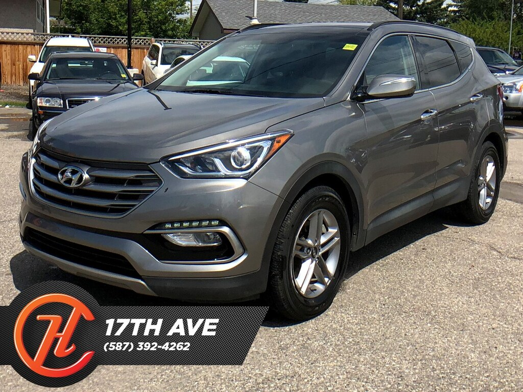 2018 Hyundai Santa Fe Sport >> Pre Owned 2018 Hyundai Santa Fe Sport 2 4 Sport Leather Moon Roof Navi Awd