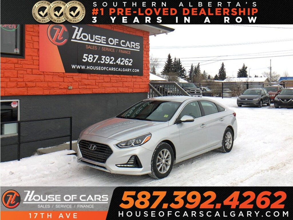Pre-Owned 2018 Hyundai Sonata GL / Heated seats / Hands free calling