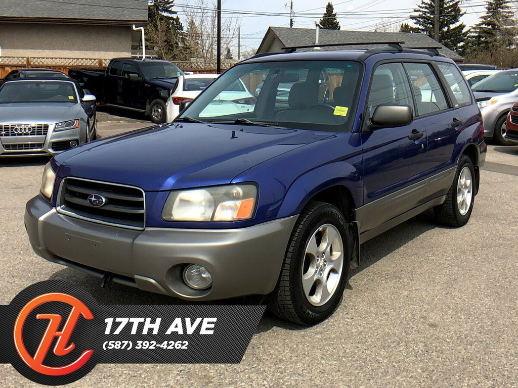 Pre-Owned 2004 Subaru Forester XS / Heated seats / Cruise