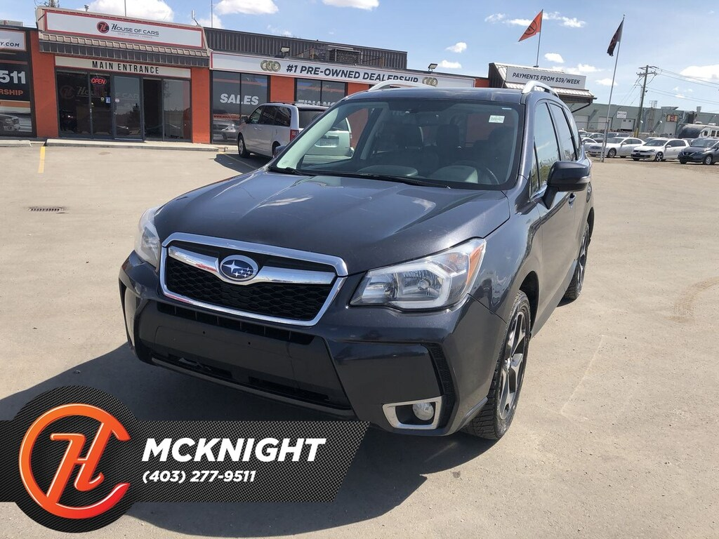 Pre-Owned 2015 Subaru Forester 2.0XT Touring / Leather / Sunroof / Cam