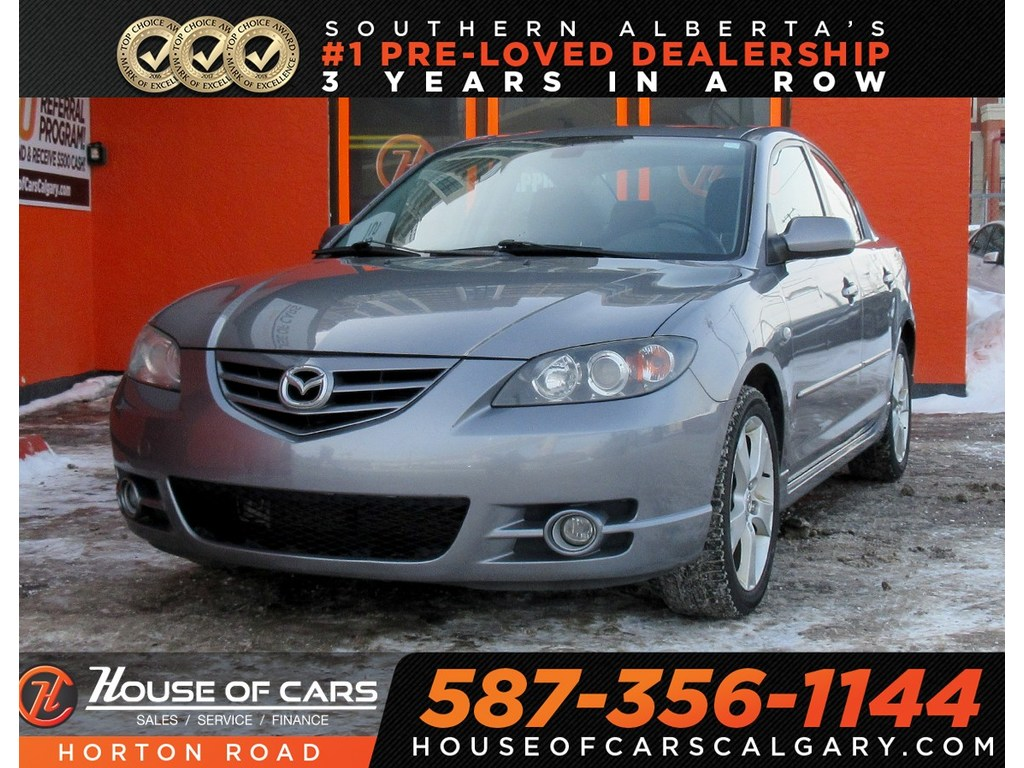 Pre-Owned 2006 Mazda3 GT/ AUX/ MORE