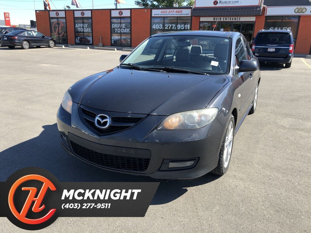 Pre-Owned 2007 Mazda3 GT / Sunroof