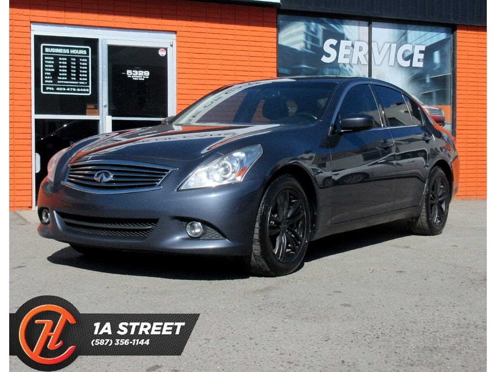 Pre-Owned 2011 INFINITI G37X Luxury/BACKUP CAM/HEATED SEATS/MORE