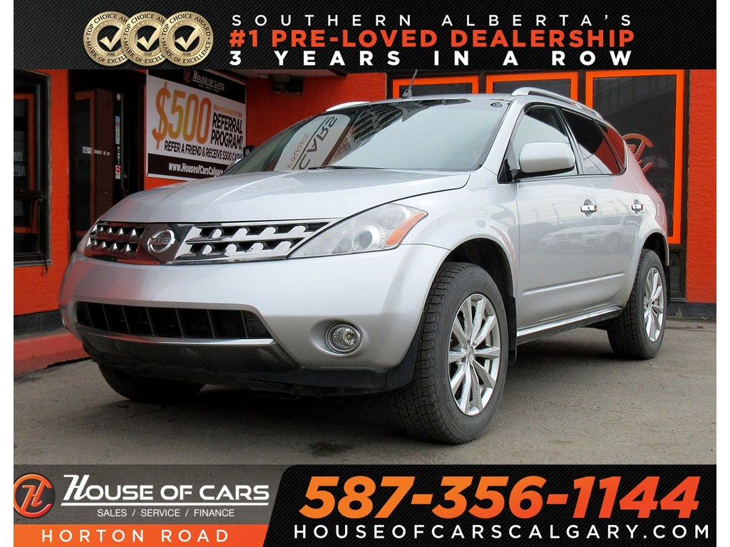 Pre-Owned 2006 Nissan Murano SE/AWD/BACKUP CAM/HEATED SEATS/MORE