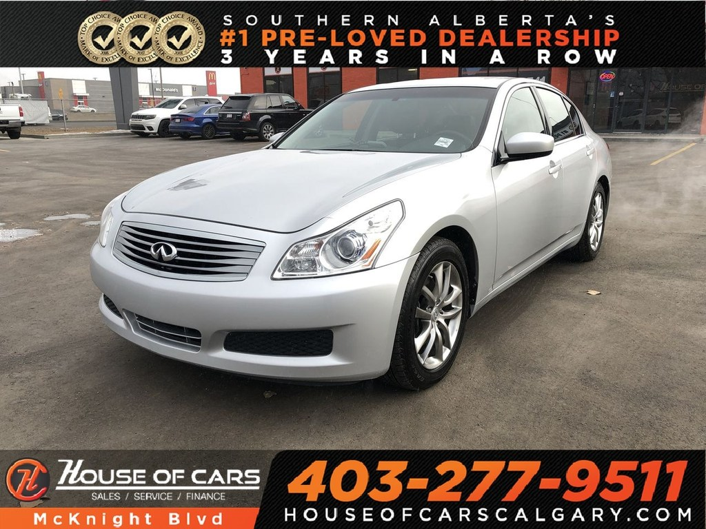 Pre-Owned 2009 INFINITI G37 Luxury / Leather / Sunroof / Bluetooth