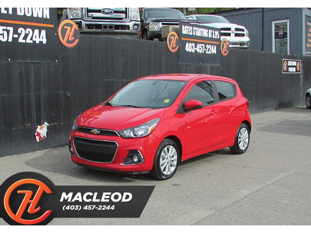 Pre-Owned 2018 Chevrolet Spark 1LT/ Back Up Camera / Bluetooth FWD