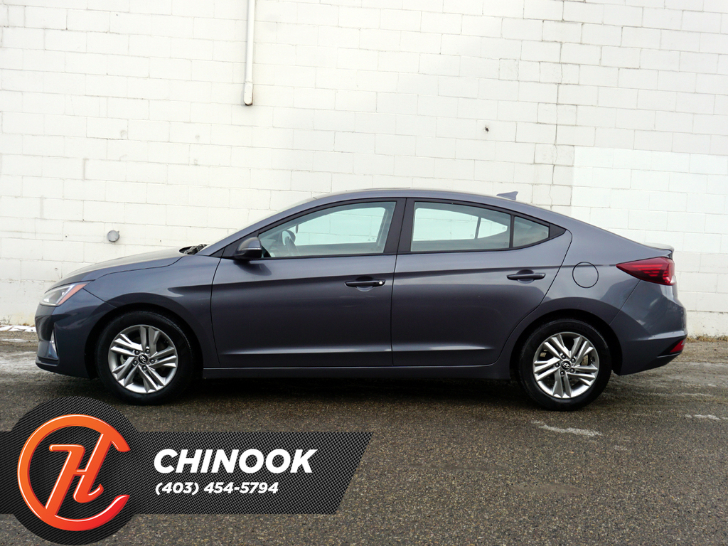 Pre-Owned 2019 Hyundai Elantra Preferred Auto w-Sun & Safety Package