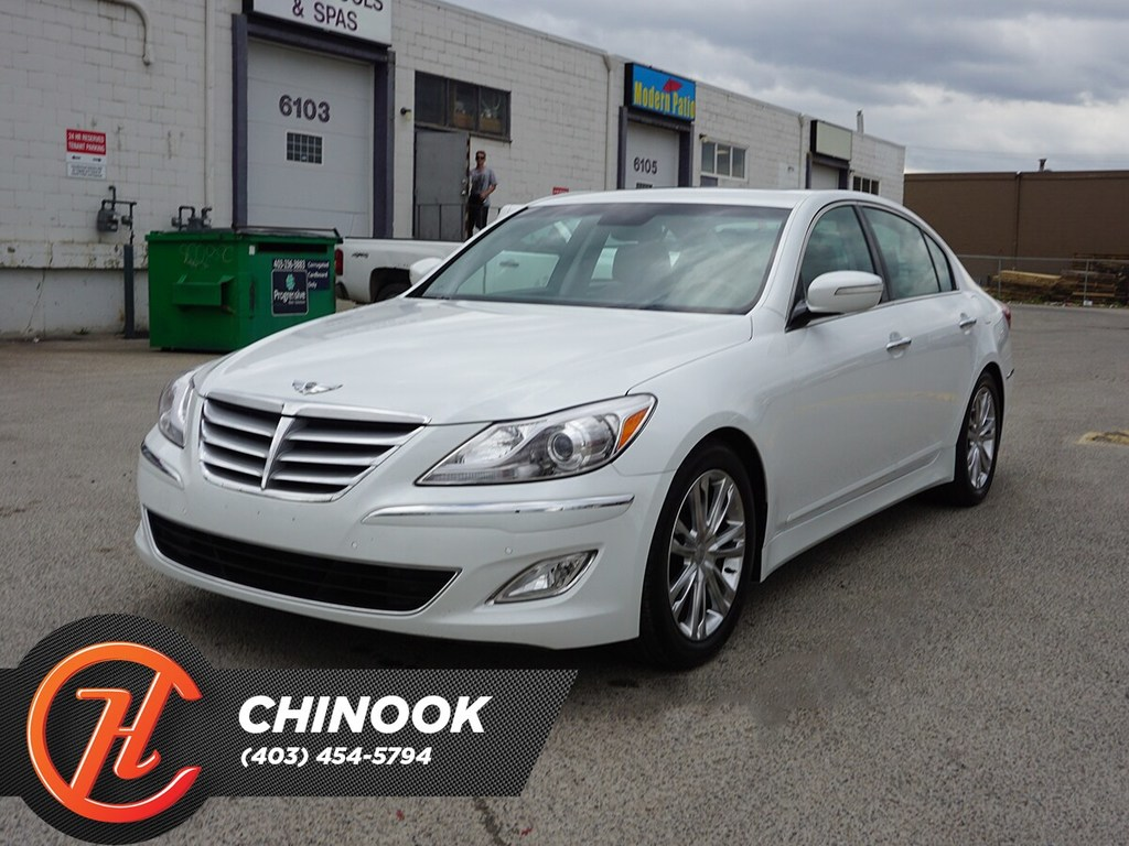 Pre-Owned 2012 Hyundai Genesis Technology w/ Navigation,Heated Seats,